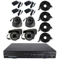 4 Channel HD DVR Surveillance System 1TB