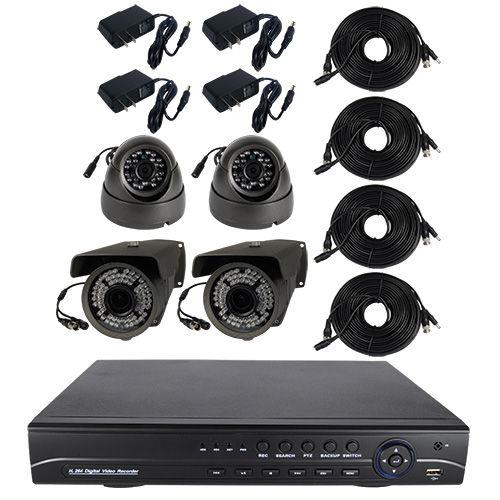 4 Channel Home Surveillance System