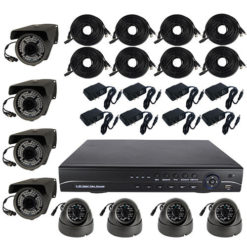 8 Channel HD DVR Surveillance System 2TB
