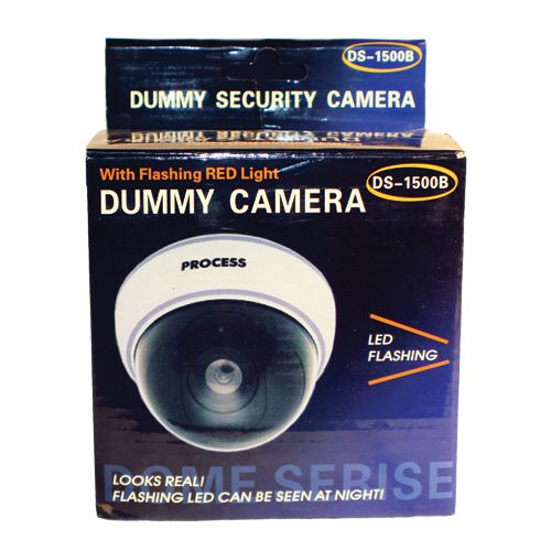Dome Dummy Camera Fake Security DM-WHTCM