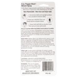 Pepper Spray 4 oz Stream |