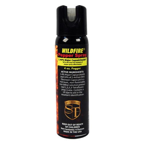 Wildfire 1.4% MC Pepper Spray 4oz Fogger