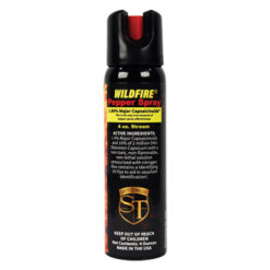 Wildfire 1.4% MC Pepper Spray 4oz Stream
