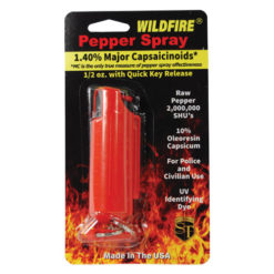 Wildfire 1.4% MC Pepper Spray 1/2oz