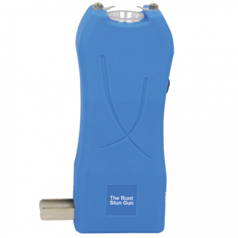 The RUNT Stun Gun - Blue Rechargeable Stun Gun 20 Million Volts