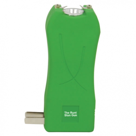 The RUNT Stun Gun - Green Rechargeable Stun Gun 20 Million Volts