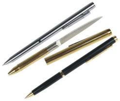 Pen Knives - Real working pens with a concealed knife inside