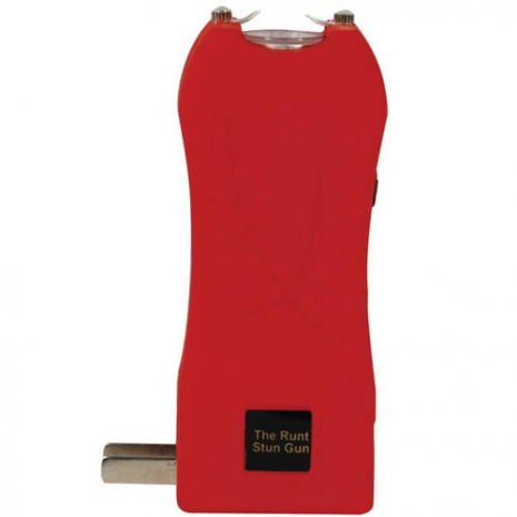The RUNT Stun Gun - Red Rechargeable Stun Gun 20 Million Volts