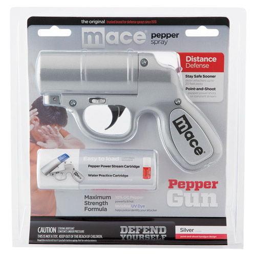 MACE Pepper Spray Gun - Silver