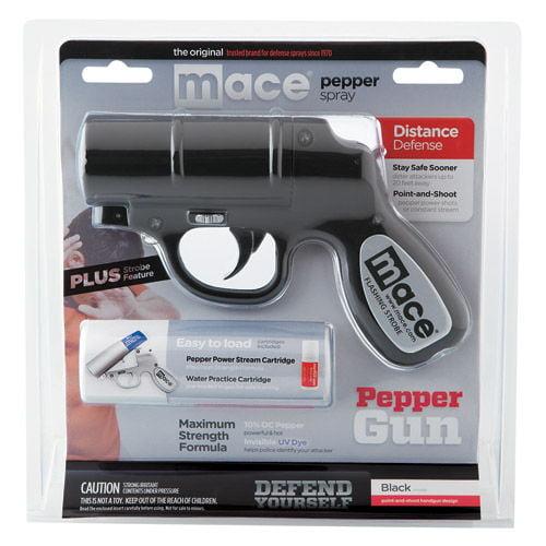 MACE Pepper Spray Gun - Black