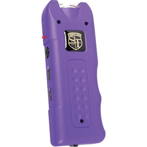 ST-MGSG Purple 20 Million Volt Multi Function Stun Gun Alarm Flashlight