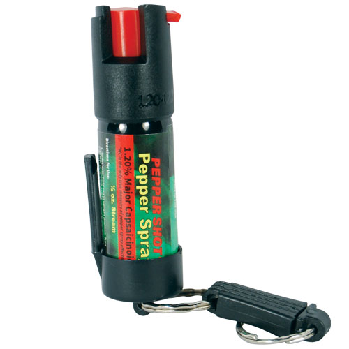 Pepper Spray with Quick Release Keychain |