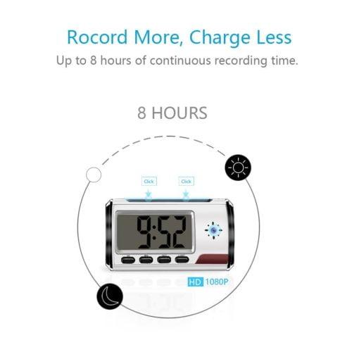 Mini Digital Alarm Clock Hidden Camera with DVR