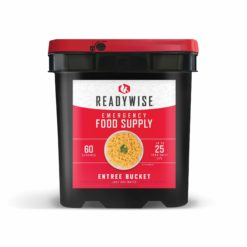 60 Serving Entree Only Grab n Go emergency food bucket