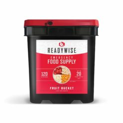 120 Serving ReadyWise Fruit Bucket Emergency Food