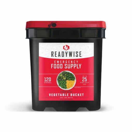 120 Swerving Readywise Veggie Bucket Emergency Food
