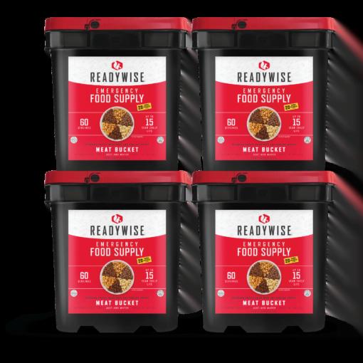 ReadyWise Meat Bucket - Emergency Food
