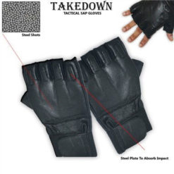 Finger-less SAP Gloves – Steel Shot Filled Gloves