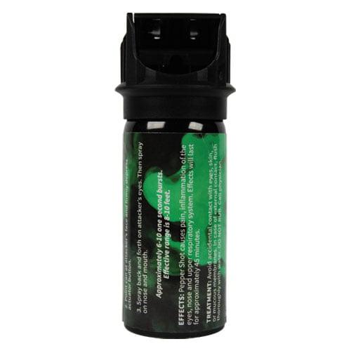 Pepper Shot 2oz 1.2% MC Flip Top Pepper Spray