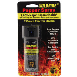 Wildfire 2oz Flip top Actuator Pepper Spray Stream