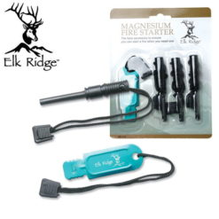 Elk Ridge 4pc Magnesium FIRE STARTER set