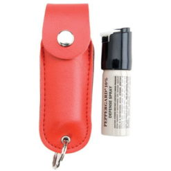 MACE PepperGard Leather Key Chain