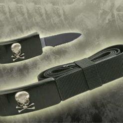 Skull Belt Knife