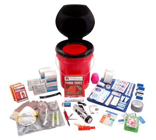 2 Person Guardian Bucket Survival Kit