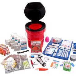 4 Person Guardian Bucket Survival Kit
