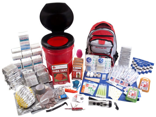 10 Person Guardian Bucket Survival Kit |