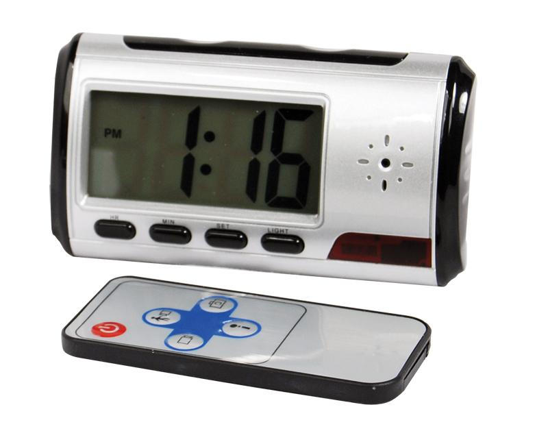 Mini Digital Alarm Clock Hidden Camera With Dvr Supreme