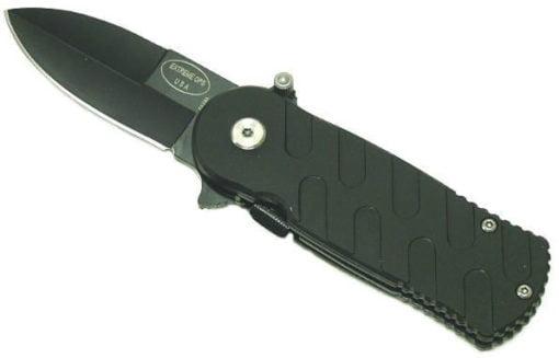 AO Surgical Steel Folding Knife   Black P195BBK