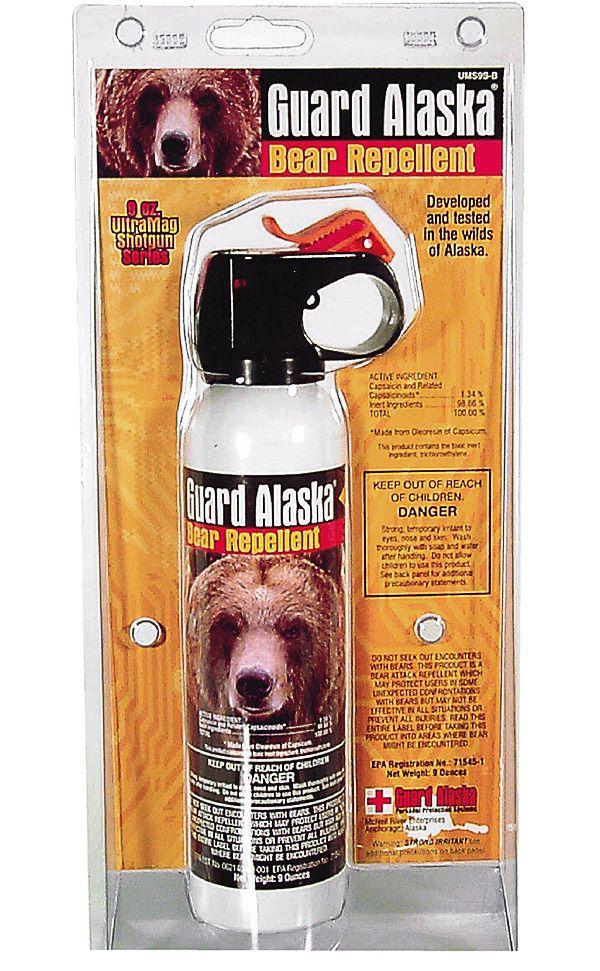 Guard Alaska Bear Pepper Spray Animal Repellents