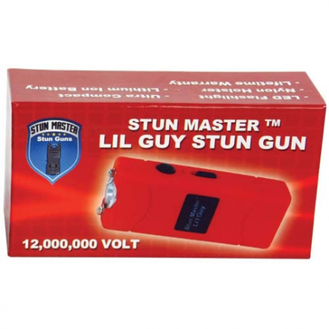 12 Million Volt Rechargeable Stun Gun Flashlight by StunMaster