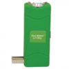 12 Million Volt Rechargeable Stun Gun Flashlight by StunMaster – Green