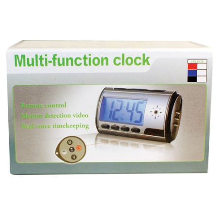 Mini Digital Alarm Clock Hidden Camera with DVR