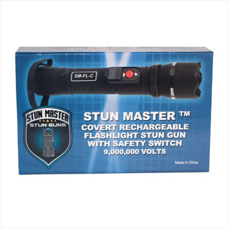 Covert Stun Master 9 Million Volt Stun Gun Flashlight