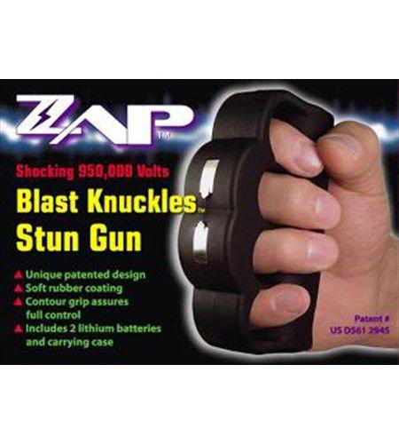 Knuckle Blaster Stun Gun   ZAPBK950