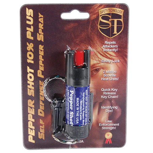Pepper Spray with Quick Release Keychain