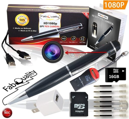 HD Pen Hidden Camera with Built in DVR Bundle!