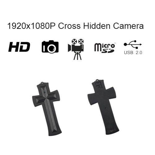 Cross Necklace Hidden Camera |