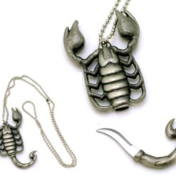 Scorpion Necklace Knife