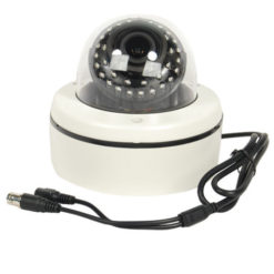 HD Weather Proof Dome Camera With 60′ Night Vision