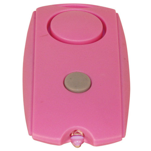 Mini Personal Alarm With LED Flashlight pal-120-pink