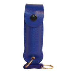 wf-lh-blue Wildfire Pepper Spray Leatherette Holster
