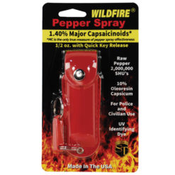 Wildfire 1/2oz Pepper Spray – Leather Holster