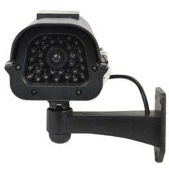 Solar Powered Dummy Camera – Black