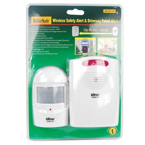 Wireless Safety Alert & Driveway Patrol Alarm DW-ALARM