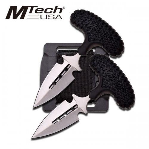 Twin T-Handle Daggers