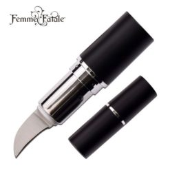 Concealed Lipstick Knife - Hidden Knives - Black